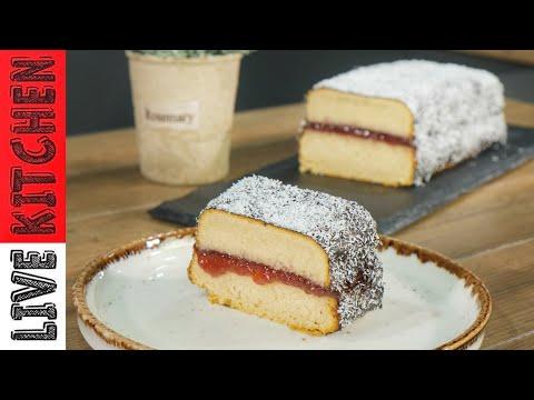 Εύκολο  Κέικ & εντυπωσιακό σαν Πτι φουρ Συνταγή έκπληξη  Για τον καφέ σας η το Τσάι σας Live kitchen