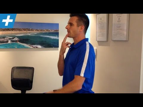 Chin tucks (retraction) for neck pain and spine posture | Feat. Tim Keeley | No.40 | Physio REHAB