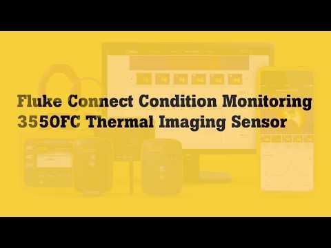 Fluke 3550FC Thermal Imaging Sensor:  How To Set-up Remote Thermal Image Monitoring