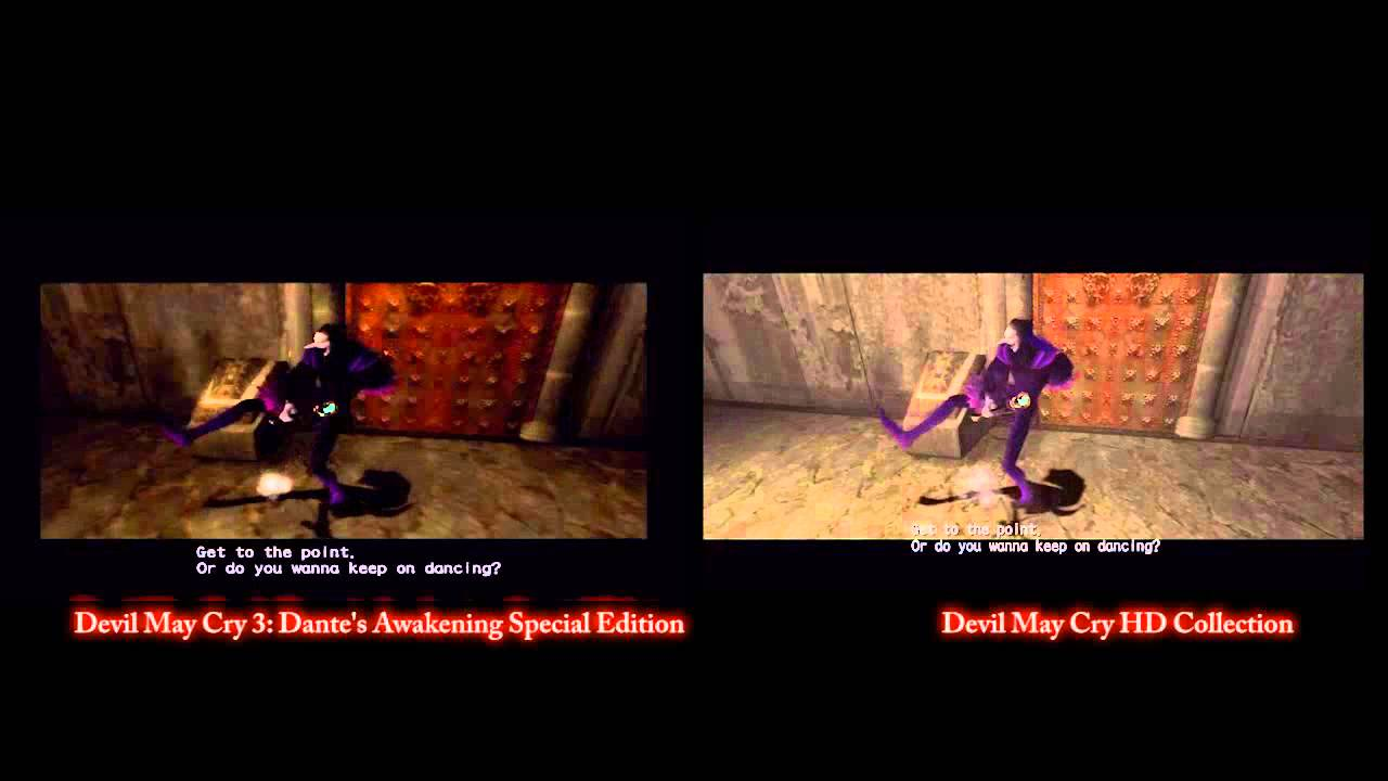 Devil may cry 3 side by side comparison with hd collection youtube - Devil may cry hd pics ...