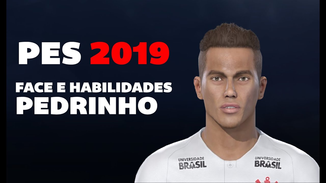 Face edit Pedrinho do Corinthians PES 2019