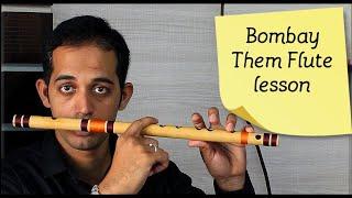 bombay theme flute a r rahman mumbai them tune tutorial lesson by pravin gulve