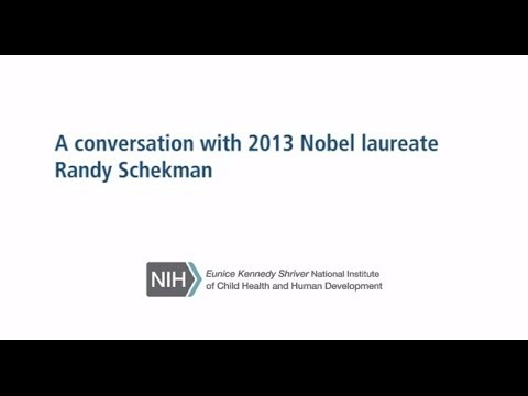 A Conversation with 2013 Nobel Laureate Randy Schekman