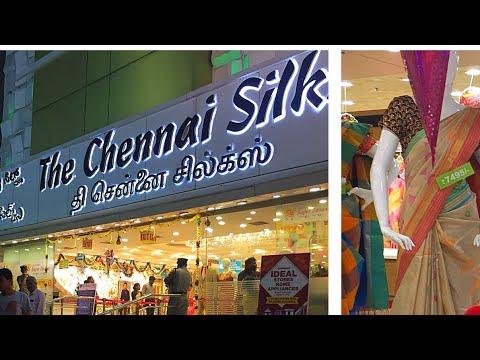 சென்னை பட்டு  || Chennai Silk Hosur Best Shopping Place For Wedding Silk Saree