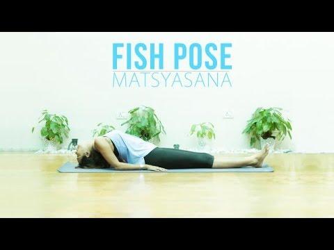 How to do Matsyasana Fish Pose for beginners