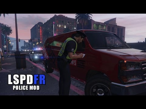 GTA 5 LSPDFR - Tire Clamping Cars