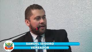 Samuel Isidoro pronunciamento 11 05 2018