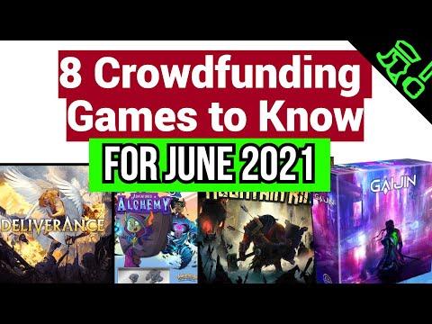 8 Crowdfunding/Kickstarter Board
