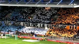 Début du Match Montpellier - Lyon (Tifo BP91, AU02 et GW09)