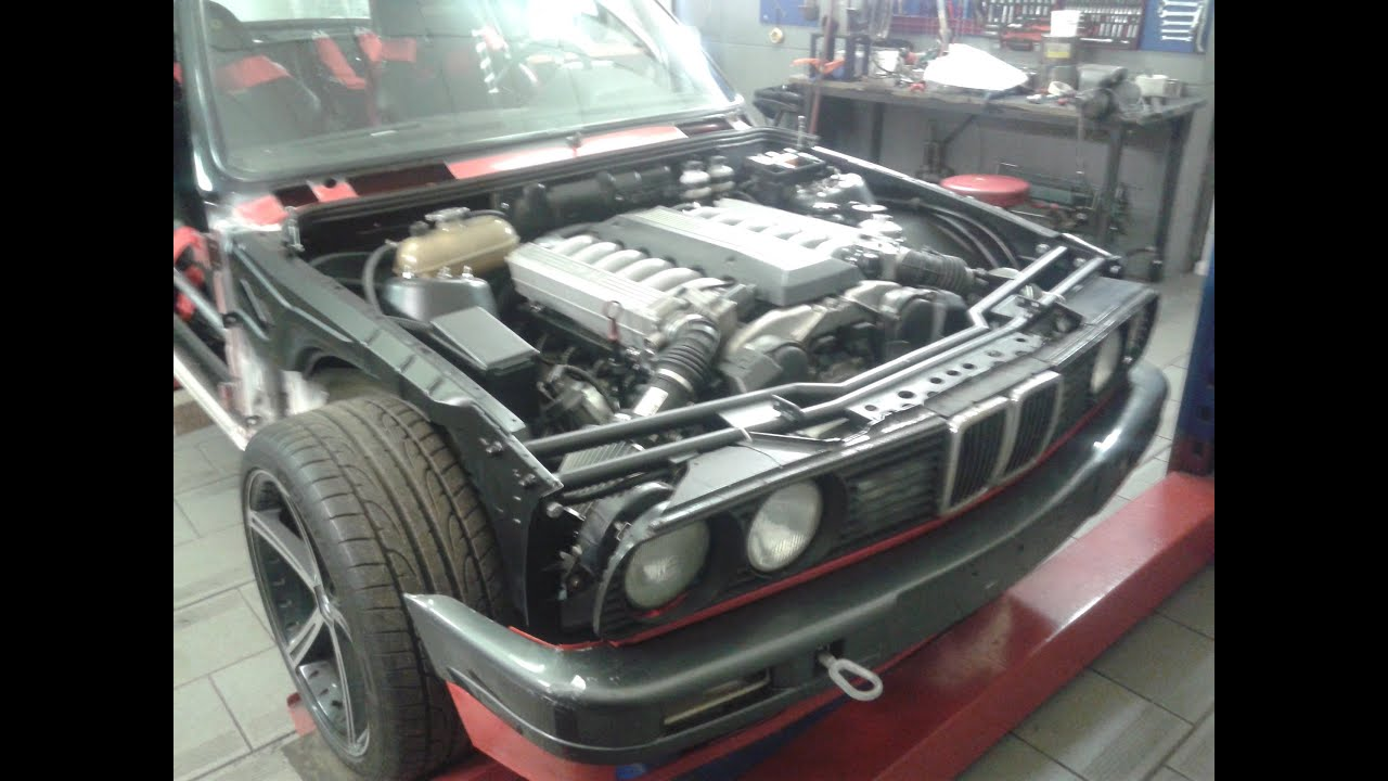 This Supra powered BMW E30 could possibly be the ultimate