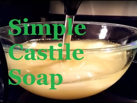 How To Make Simple Castile Soap (Vegan Friendly)