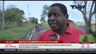 Só em Nhamatanda em Sofala há cerca de cinquenta mortos pelo Idai