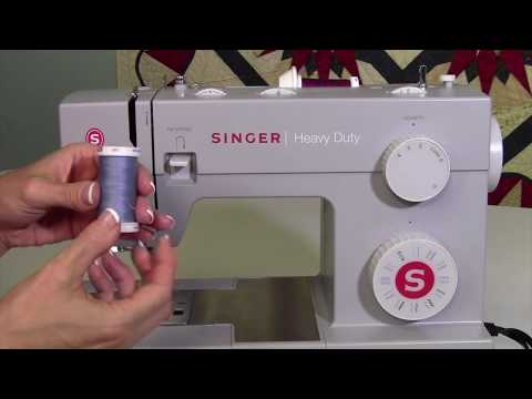 Singer Heavy Duty 4423 6 Selecting Quality Thread