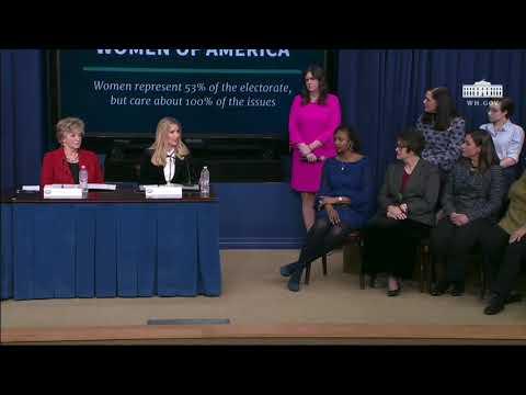 At WH Women Empowerment Symposium, Ivanka Trump Discusses Admin's Support Of Women Careers In STEM