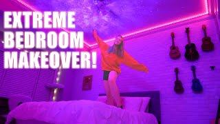 Extreme Bedroom Makeover! | Everything from Amazon | Whitney Bjerken