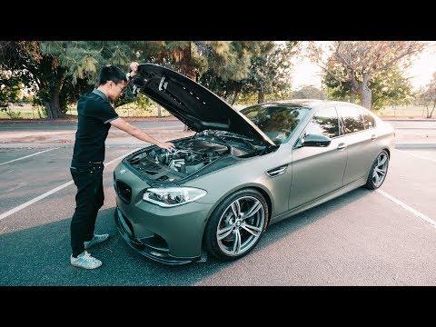 一台疯狂的700匹宝马M5! - Crazy 700 HP BMW M5!