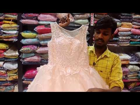 Designer Wear Long Frock Dresses With Price And Address / Dilsukhnagar Shopping / Hyderabad