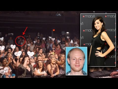 Chilling Video Shows Christina Grimmie's Killer Standing In Back Of Concert Hall