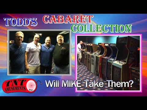 #1161 Todd's CABARET Arcade Video Game COLLECTION! TNT Amusements
