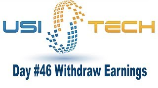 USITech | Long Term Invest | Day # 46 | Earn Stable BTC | Cryptony