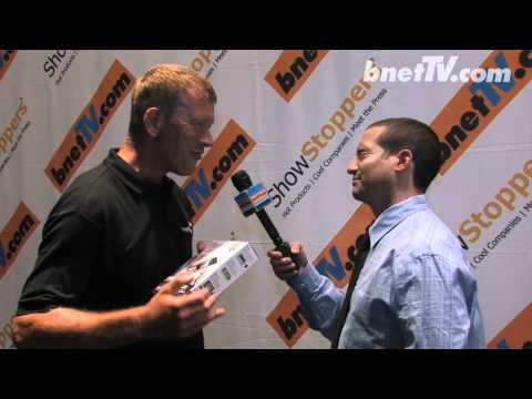 bnetTV interviews Seagate at Showstoppers IFA 2011 Berlin