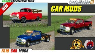 FS19   Car Mods (2019-09-18) - review