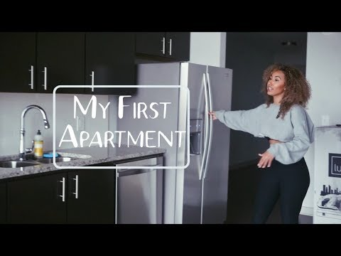 My Empty Houston Apartment Tour