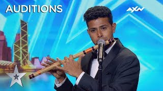 Sudhir.r Surprised Everyone With His Music | Asia's Got Talent 2019 On Axn A