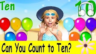 Can You Count to Ten? | Family Sing Along - Muffin Songs