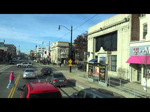 Washington D.C.: a ride with MEGABUS - H Street NE to Union Station