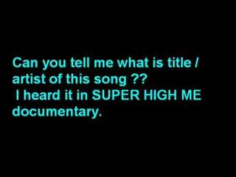 Super High Me - Track to Recognition