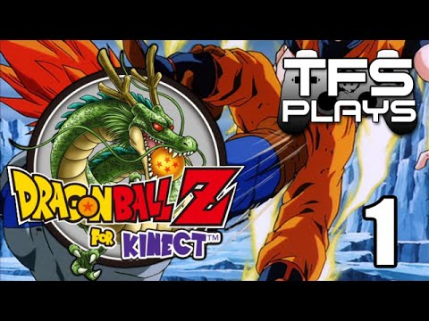 TFS Plays: DBZ Kinect - 1 -