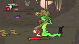 Castle Crashers: Killing All Bosses