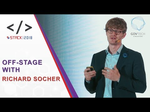 STACK2018: Off-Stage with Richard Socher