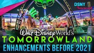 TOMORROWLAND Enhancements Coming For Walt Disney World's 50th Anniversary - Disney News - 6/19/18