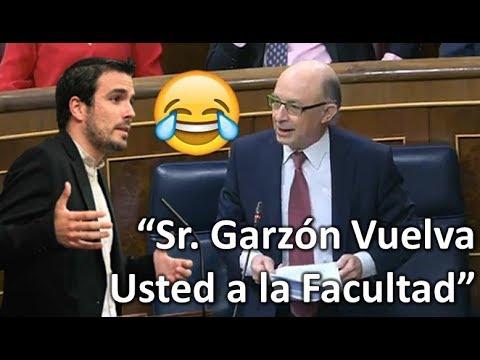 """¡¡¡MONTORO RIDICULIZA a Alberto GARZÓN en el Congreso!!! """"Vuelva usted a la Facultad"""""""