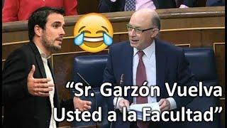 ¡¡¡MONTORO RIDICULIZA a Alberto GARZÓN en el Congreso!!!...