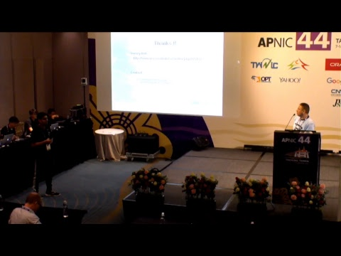 APNIC44 - Technical Operations 3