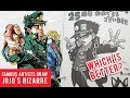 Famous Manga Artists Jojo's Bizarre Adventure Drawings