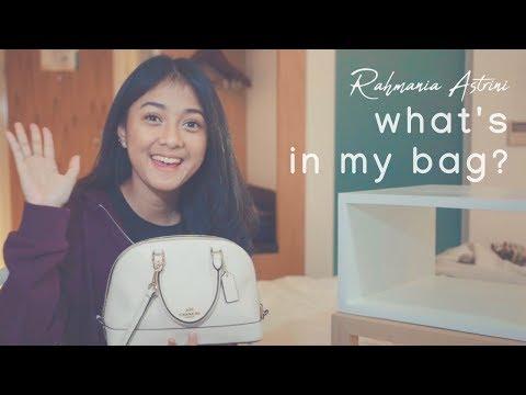 Rahmania Astrini - What's In My Bag