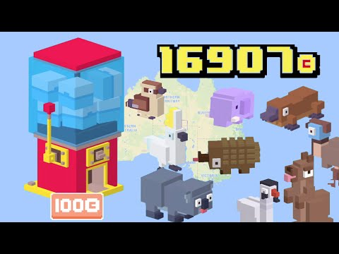 Crossy Road AUSTRALIAN PRIZE RAFFLE | 16907 Coins to spend – How to get all the NEW Characters