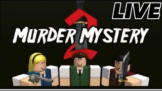 ROBLOX | MURDER MYSTERY | PLAYING WITH SUBS | LIVE