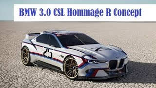 BMW 3.0 CSL Hommage R concept, at the 2015 Pebble Beach Concours d'Elegance