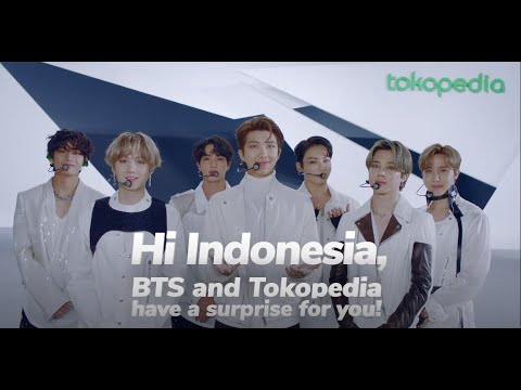 TokopediaxBTS : WE HAVE A SURPRISE FOR YOU!