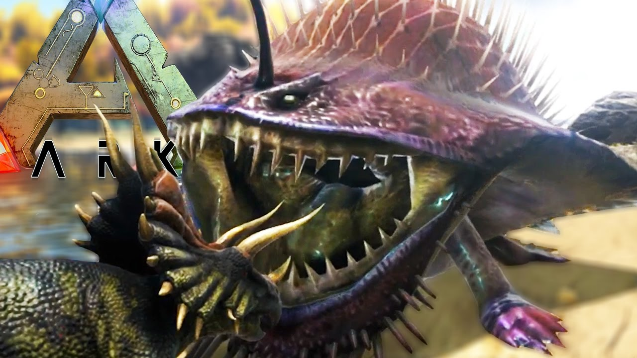 Ark survival evolved epic new monsters gobul barioth for Angler fish ark