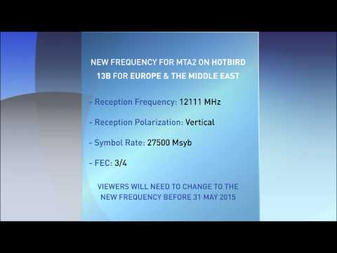 Satellite Frequency details - European - YouTube
