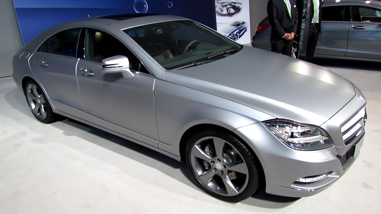 2014 Mercedes Benz Cls350 Bluetec Exterior And Interior