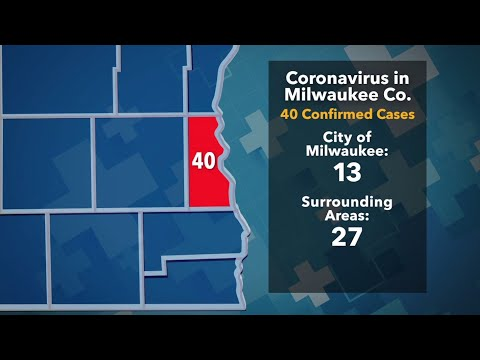 40 Cases Of COVID-19 In Milwaukee County