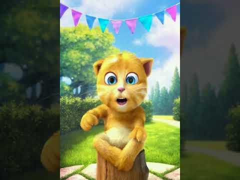 My ginger cat cartoon