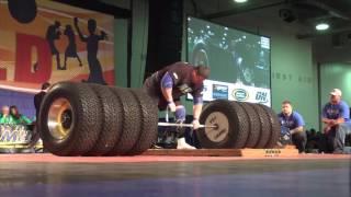 New World Record Deadlift 1155 pounds524 Kg World's Strongest Man Zydrunas Savickas